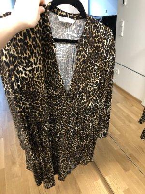 Zara Abito blusa camicia marrone