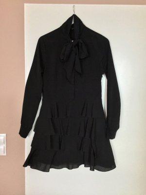 Nikkie Blousejurk zwart Polyester