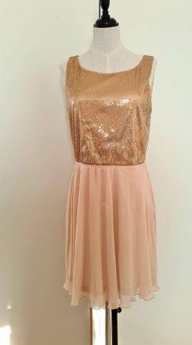 Pimkie Sequin Dress cream