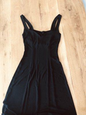 Kookai Sukienka z dżerseju czarny Wiskoza