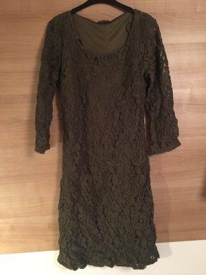 C&A Basics Sheath Dress green grey