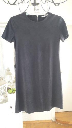 Zara Trafaluc Robe courte gris anthracite