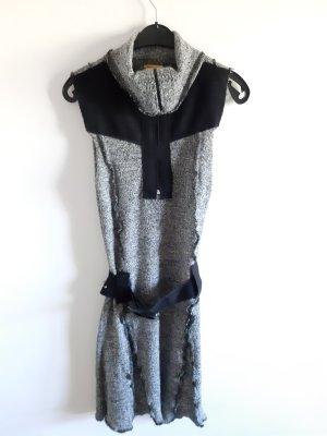 Chilli Robe en laine noir-gris clair