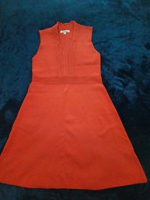Belle Vere Gebreide jurk rood Acryl