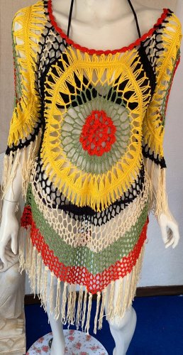 Fringed Dress multicolored