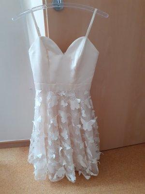 Chi Chi London Lace Dress natural white-cream