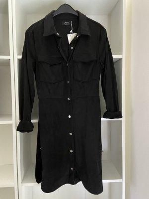 Bershka Robe chemise noir