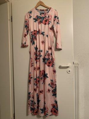 100% Fashion Robe longue multicolore