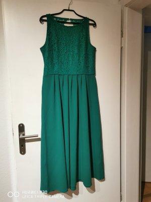 Mint&berry Lace Dress green
