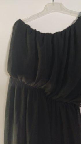 unbranded Robe asymétrique noir