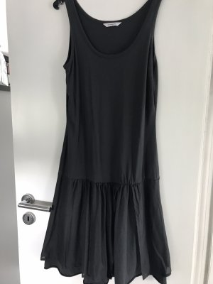 Sandwich Jersey Dress dark grey