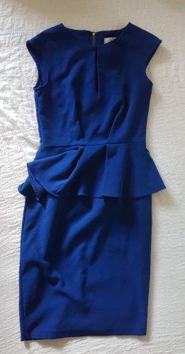 Closet Vestido cut out azul neón Poliéster
