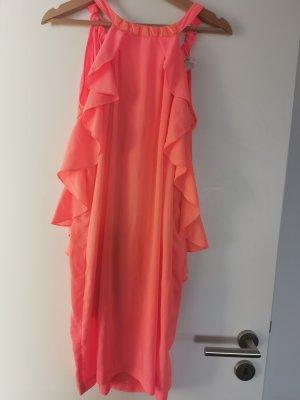 H&M Halter Dress apricot