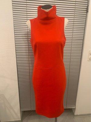 Strenesse Vestido de lana rojo