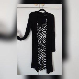 Bon Prix Longsleeve Dress white-black