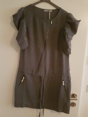 3 Suisses Sukienka z krótkim rękawem jasnoszary-szary