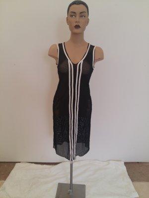 Girbaud Shirt Dress black-white cotton