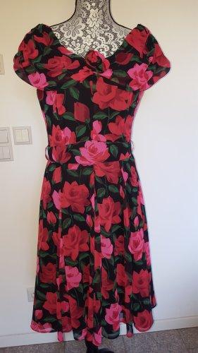 Schmeinck Chiffon jurk veelkleurig