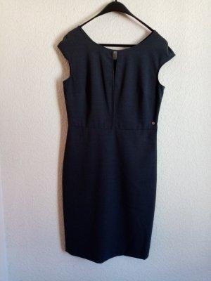 Armani Sheath Dress anthracite cotton