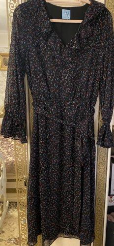 CeCe Szyfonowa sukienka Wielokolorowy
