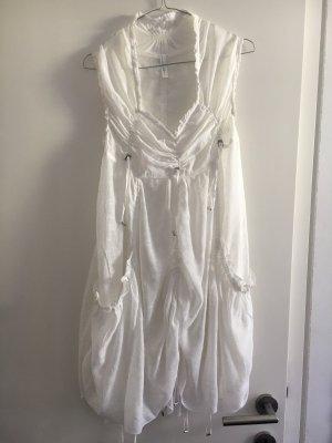 HICH Bandeau Dress white