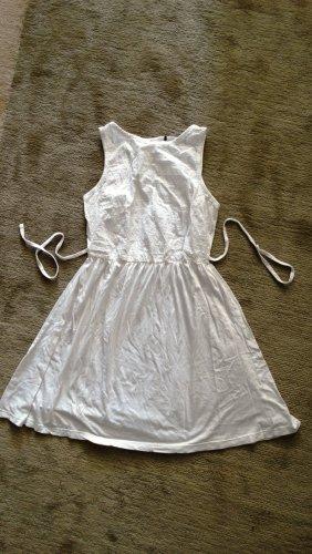 Atmosphere Robe en jersey blanc-blanc cassé