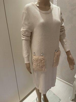 Kleid 35%Viscose mit strass und fell einheitsgrõsse neu mit Etikett