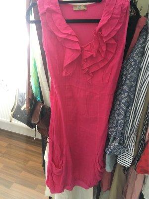 C. Valentyne vestido de globo magenta
