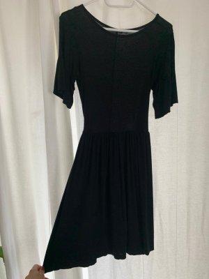 Bohoo Shirt Dress black