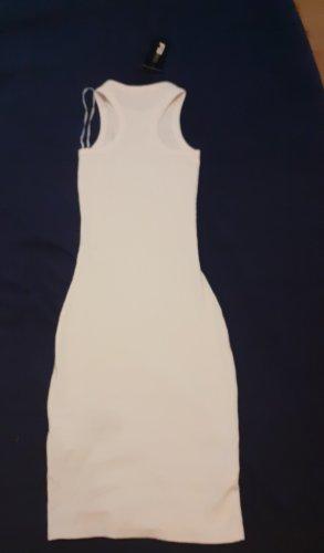 FB Sister Pinafore dress white
