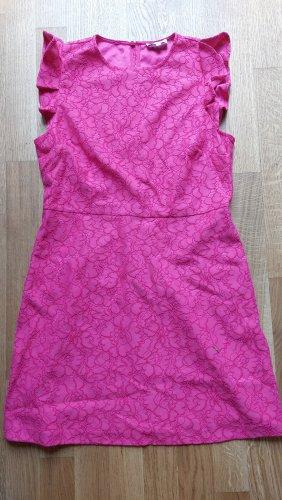 Warehouse Mini vestido rosa