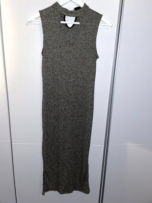 Benetton Evening Dress silver-colored