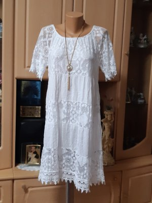 Made in Italy Robe de plage blanc