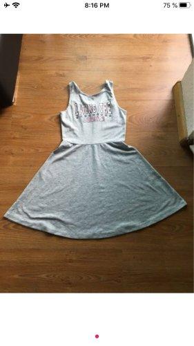 H&M Basic Vestido de tela de jersey multicolor