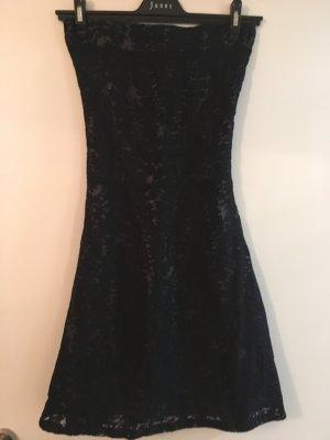 Dept Vestido bustier gris oscuro-azul oscuro Poliéster