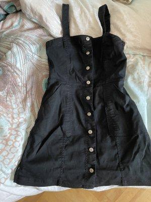 H&M Robe en jean noir