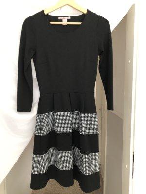 Anna Field Robe de soirée noir-blanc polyester