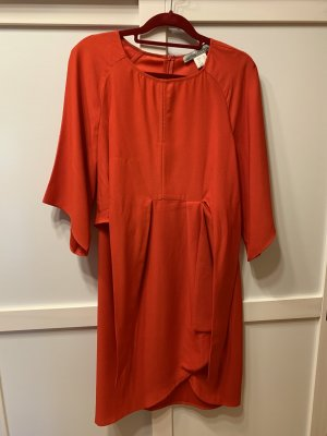 Ashley Brooke Sheath Dress red