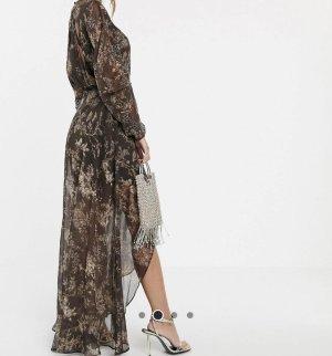 Asos Suknia wieczorowa brązowy