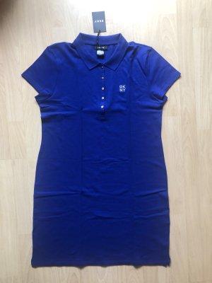 DKNY Robe Polo bleu