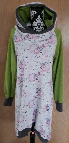 Etsy Robe à capuche multicolore tissu mixte
