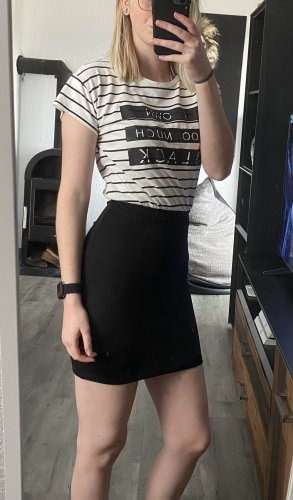 CoolCat Mini Dress black-white