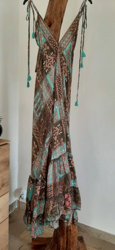 no name Vestido Hippie multicolor