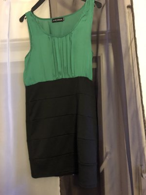 Stretch Dress black-green
