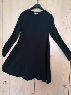 Zalando Essentials Sukienka z rękawem balonowym czarny Bawełna