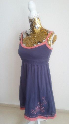 FlashLights Vestido playero rosa-azul aciano