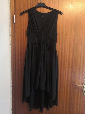 H&M Robe bas asymétrique noir