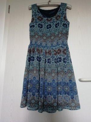 Manguun Summer Dress multicolored polyester