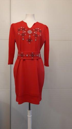 Vestito di lana rosso
