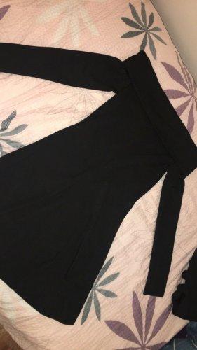 H&M Vestido de un hombro negro